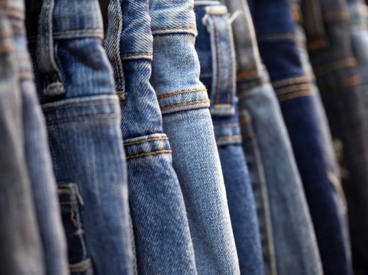 prevent jeans from fading
